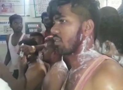 25 injured in acid attack at Congress victory rally in K'taka