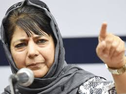 JK's relation with India being turned into Israel-Palestine conflict: Mehbooba