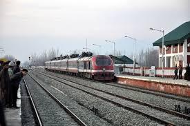 Train services suspended across Kashmir