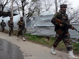 Central Kashmir : Two militants killed, Internet snapped