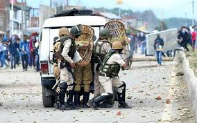 Over 230 militants killed in J K in 2018 dip in stone pelting Officials