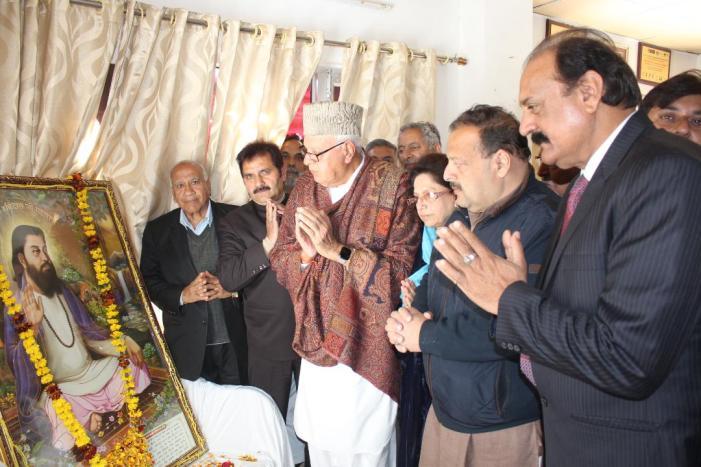 Promote peace, eschew tendencies of hate: Dr Farooq