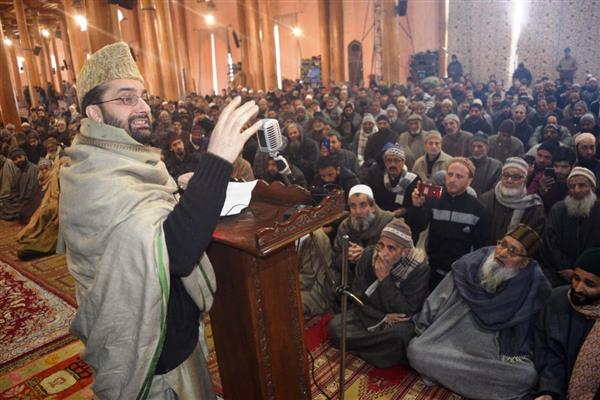 Mirwaiz appeals people to help each other