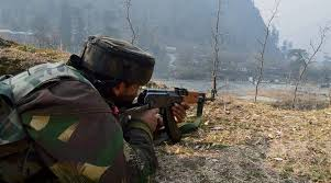 Gunfight Rages in forests of Keller Shopian