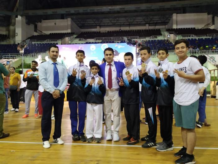 J&K Won Second Runner Trophy in 4th Cadet National Taekwondo Championship