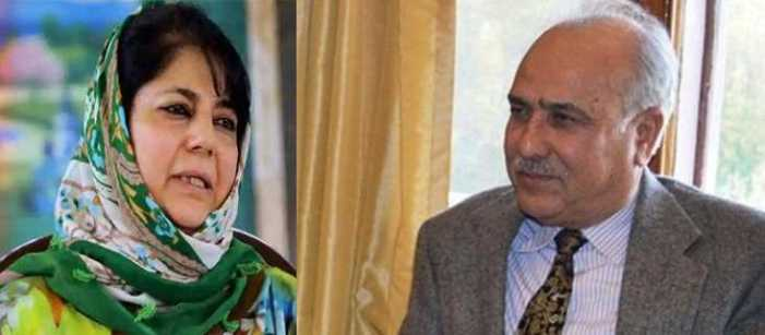 Mehbooba, Hasnain file nomination from Anantnag seat