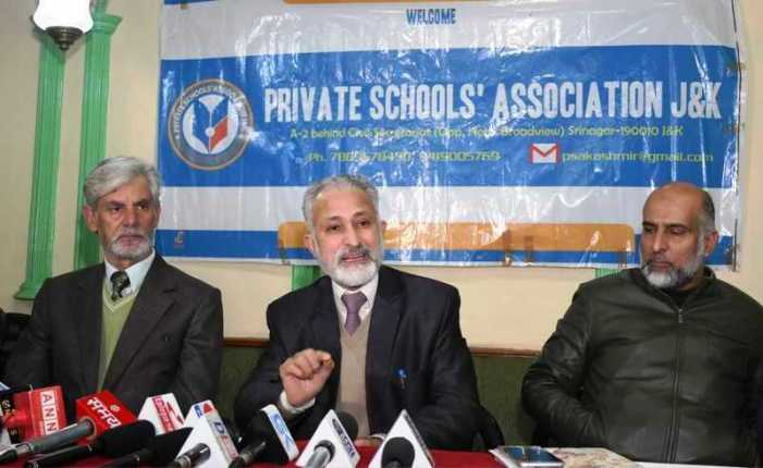PSAJK condemns AICTE direction asking J&K students not to take admissions in PaK