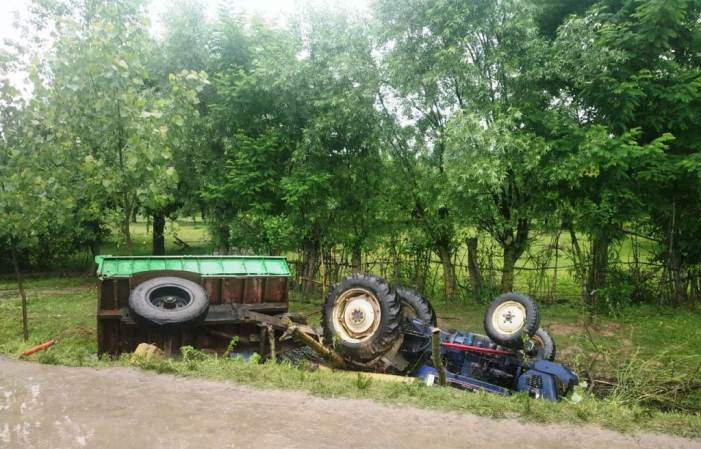 Tractor driver killed in road mishap