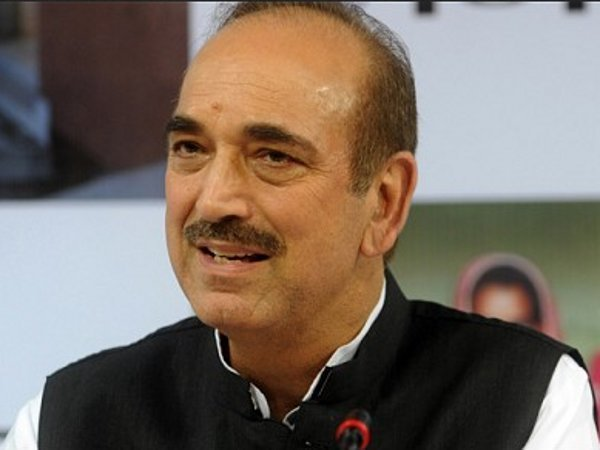 Congress leader Ghulam Nabi Azad tests Covid-19 positive; home quarantined