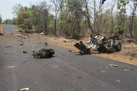 15 security personnel, 1 civilian killed in Naxal blast in Maharashtra