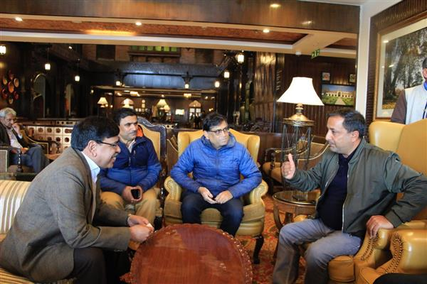 Union Secretary Tourism holds meet with Dir tourism Kashmir, tourism players