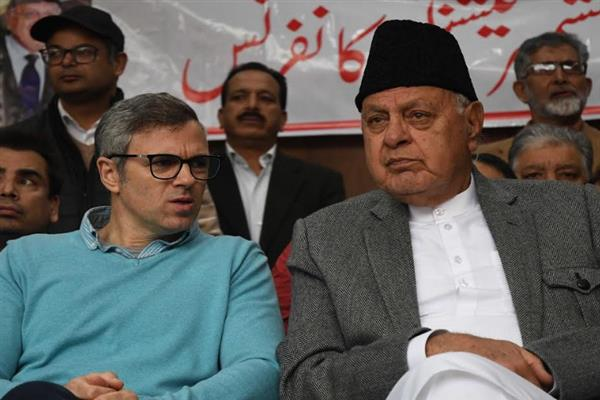 Dr Farooq, Omar express grief over demise of Khwaja Abdul Ahad Tramboo