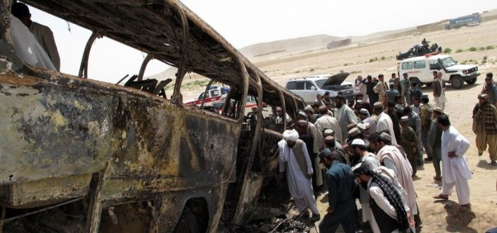 Roadside bomb kills at least 34 civilians in Afghanistan