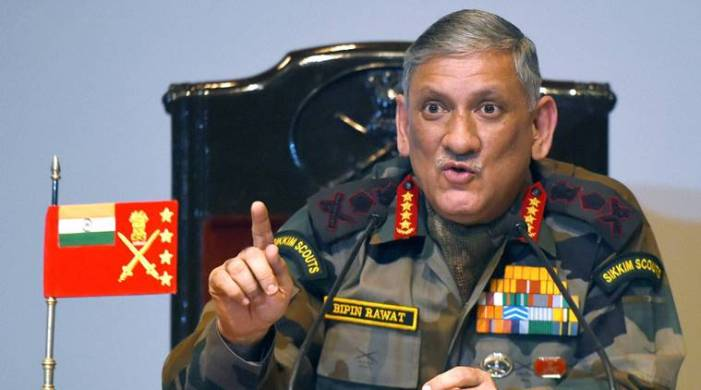 No intrusion by Chinese troops in Ladakh: Army chief