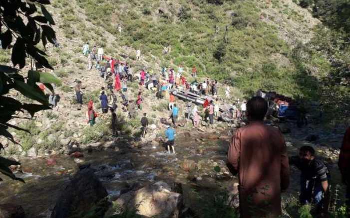 35 passengers dead, 17 injured in Kishtwar minibus accident