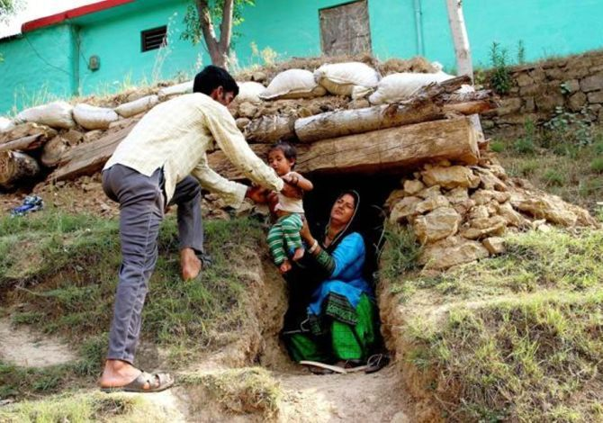150 bunkers ready in Poonch, work on 350 nearing completion: Officials