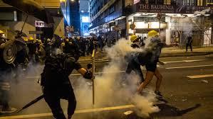 China tells US to remove 'black hands' from Hong Kong