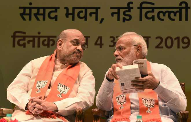 No one called J-K ex-CMs 'anti-national', UT admn to decide on their release: Shah