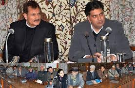 Khurshid, Talat take stock of public grievances at Srinagar