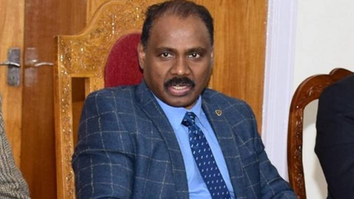 Lt Governor expresses grief over demise of senior KAS Officer
