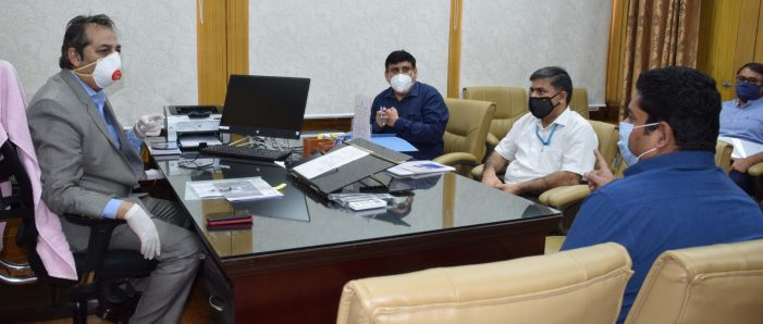 Advisor Baseer Khan convenes meeting to resolve issues regarding 400 KV Baghlihar-Kishanpur line