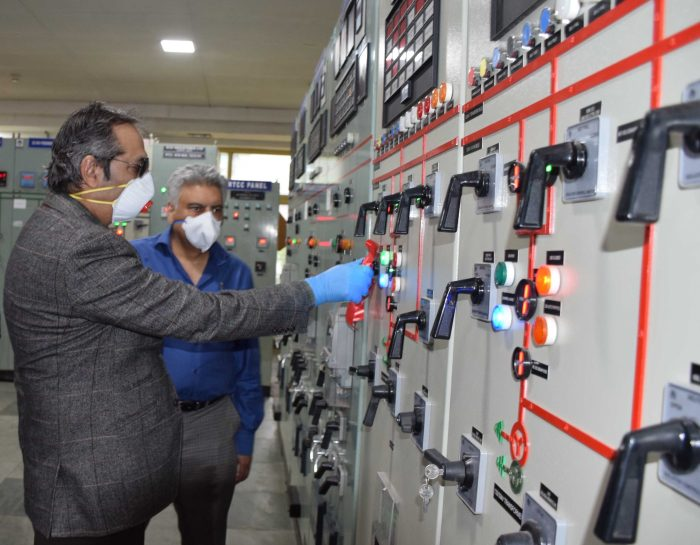 Advisor Baseer Khan inaugurates 50 MVA Power Transformer at Grid Station Khunmoh