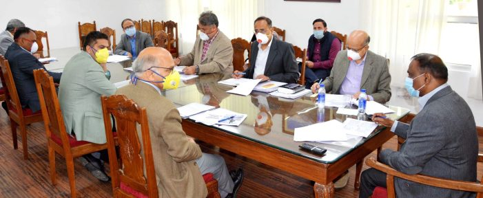 LG reviews functioning of Education department