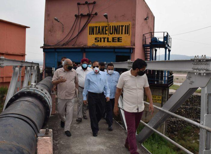 Advisor Bhatnagar inspects water treatment plants, pumping stations across Jammu city reviews summer preparedness of Jal Shakti Department