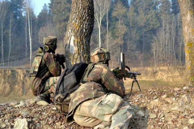 Lolab forest area under siege after exchange of fire