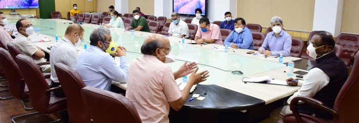 Lt Governor chairs high-level meeting of Administrative Secretaries