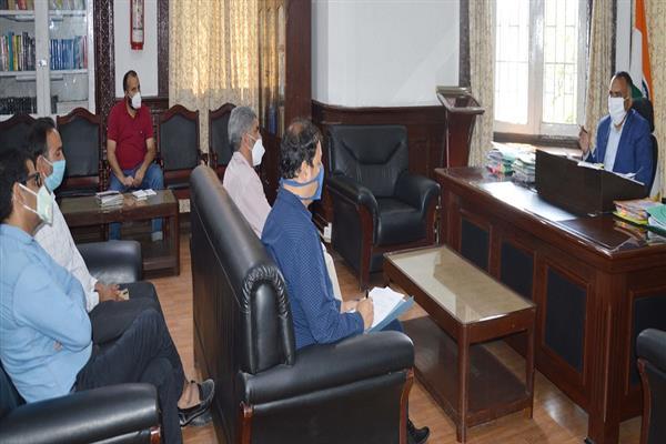 Div Com chairs 251st HLC meeting of CRP Srinagar