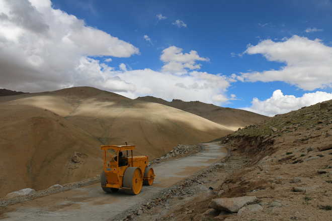 India laying new road between Ladakh and Darcha in Himachal Pradesh