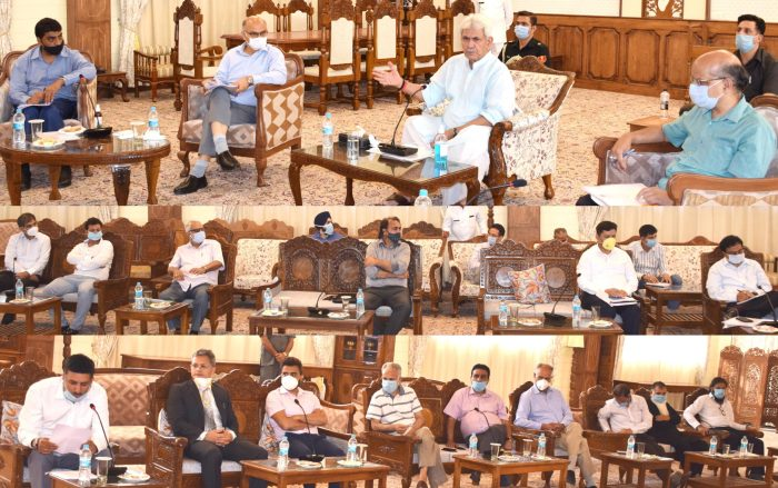 Lt Governor interacts with representatives of KCCI