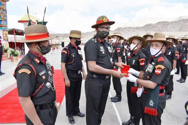 131 Soldiers Join Ladakh Scouts Regiment