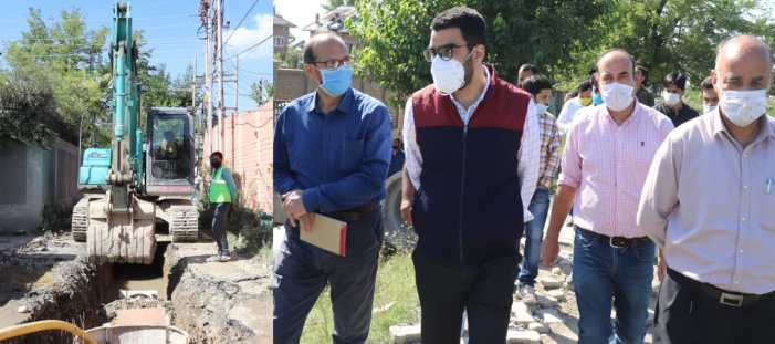 CEO, ERA/JTFRP inspects progress of work on various Mega Storm Water Drainage sub-projects in City