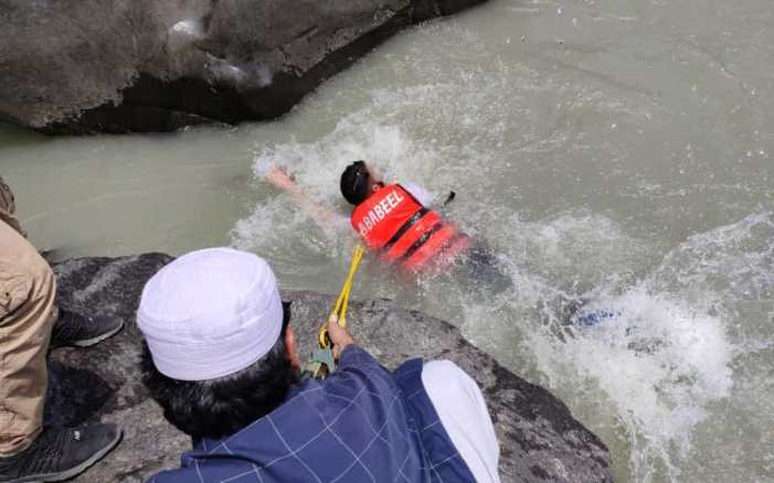 Minor's body fished out from Jehlum after four days in Uri