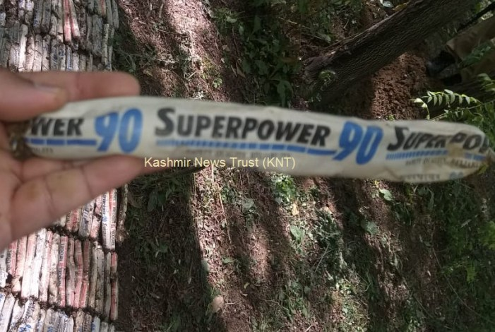 52 kilogram explosives found in Syntax during search operation in South Kashmir village