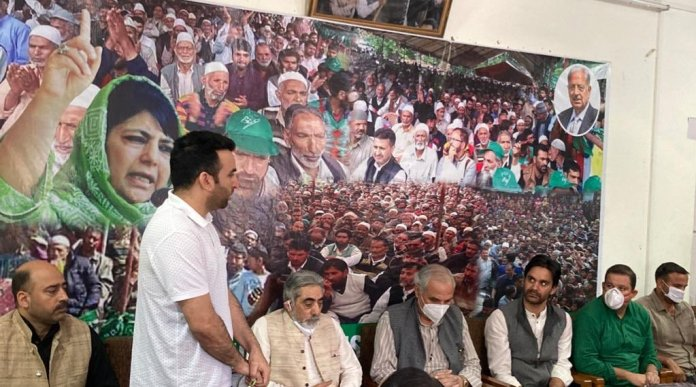 PDP holds first meet in Kashmir after abrogation of article-370