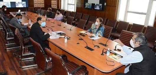 Advisor Khan takes stock of ongoing works at Bibi Haleema Nursing College