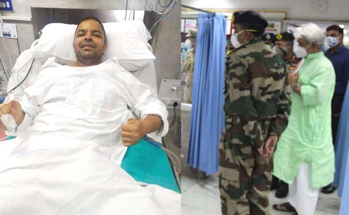 Lt Governor lauds exemplary courage and bravery of CRPF officer