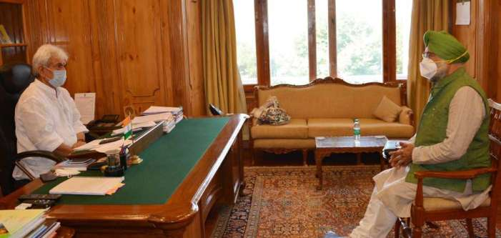 Chairman, All Parties Sikh Coordination Committee (APSCC) meets Lt Governor