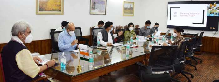 Lieutenant Governor reviews functioning of Industries & Commerce Department