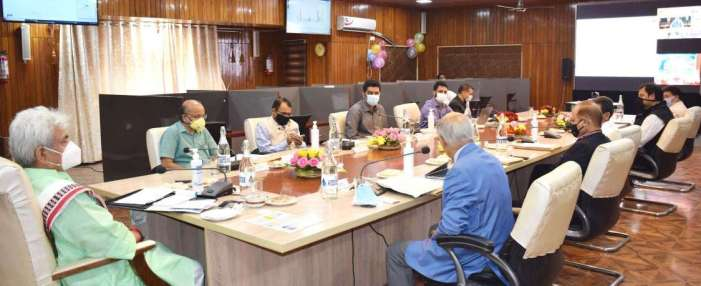 Lt Governor launches National Generic Document Registration System (NGDRS) in J&K