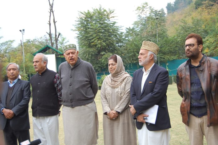 Farooq is the president of Peoples alliance, Says will fight peacefully