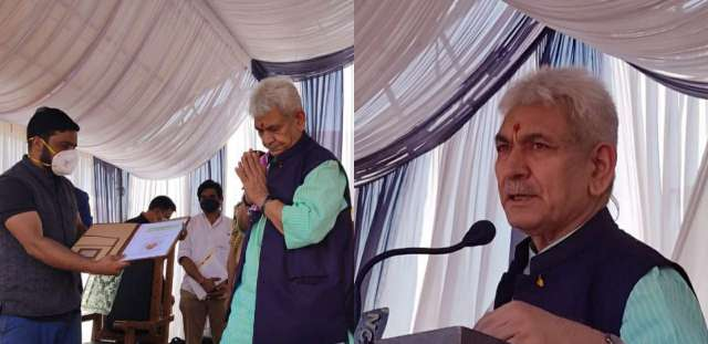 """""""Panchayats in J&K to be a new model of equitable development & growth in the country; people of J&K will decide their own priorities & administration will be facilitator"""", Lt Governor"""