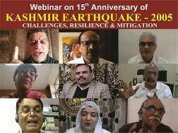 Div Com Kashmir inaugurates Webinar on 15th Anniversary of Kashmir Earthquake