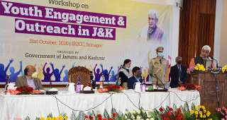 Lt Governor Manoj Sinha inaugurates Workshop on Youth Engagement & Outreach in J&K