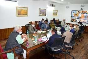 Lt Governor reviews winter preparedness & logistic arrangements of various departments