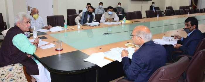 Lt Governor reviews progress made on recommendations of Committee on Business revival in J&K