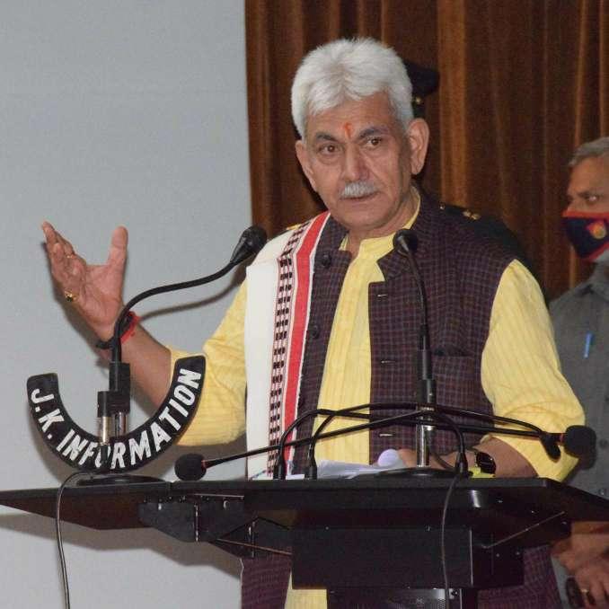 Lt Governor holds Press Conference at Srinagar